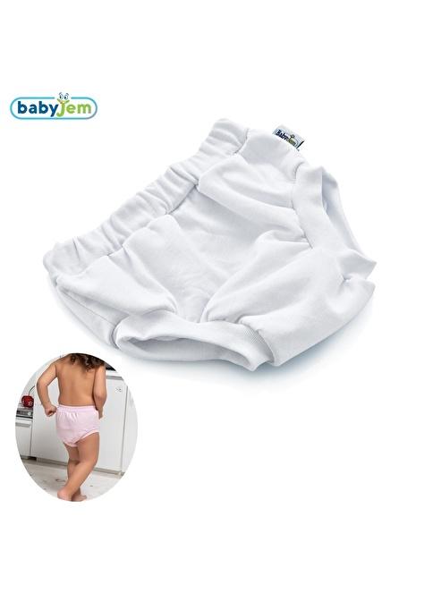 Baby Jem Babyjem Soft Alıştırma Külodu  3Yaş Beyaz